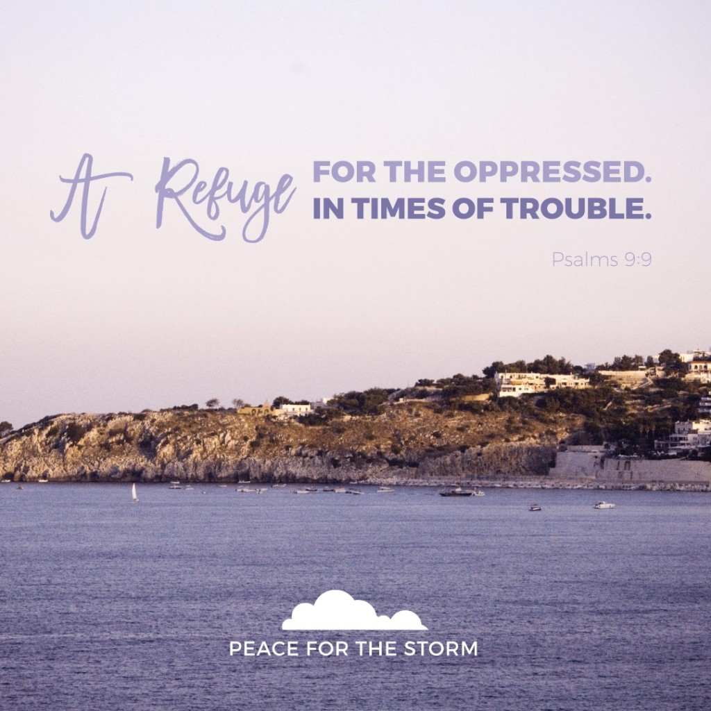 Peace for the Storm Quotes - A Refuge in Times of Trouble