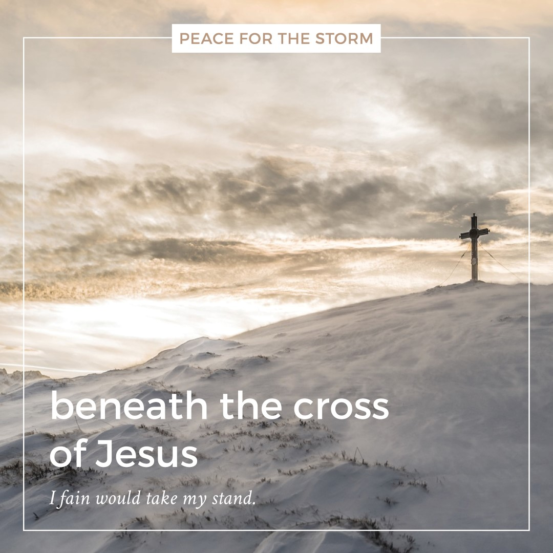 Peace for the Storm Quotes - Beneath the Cross