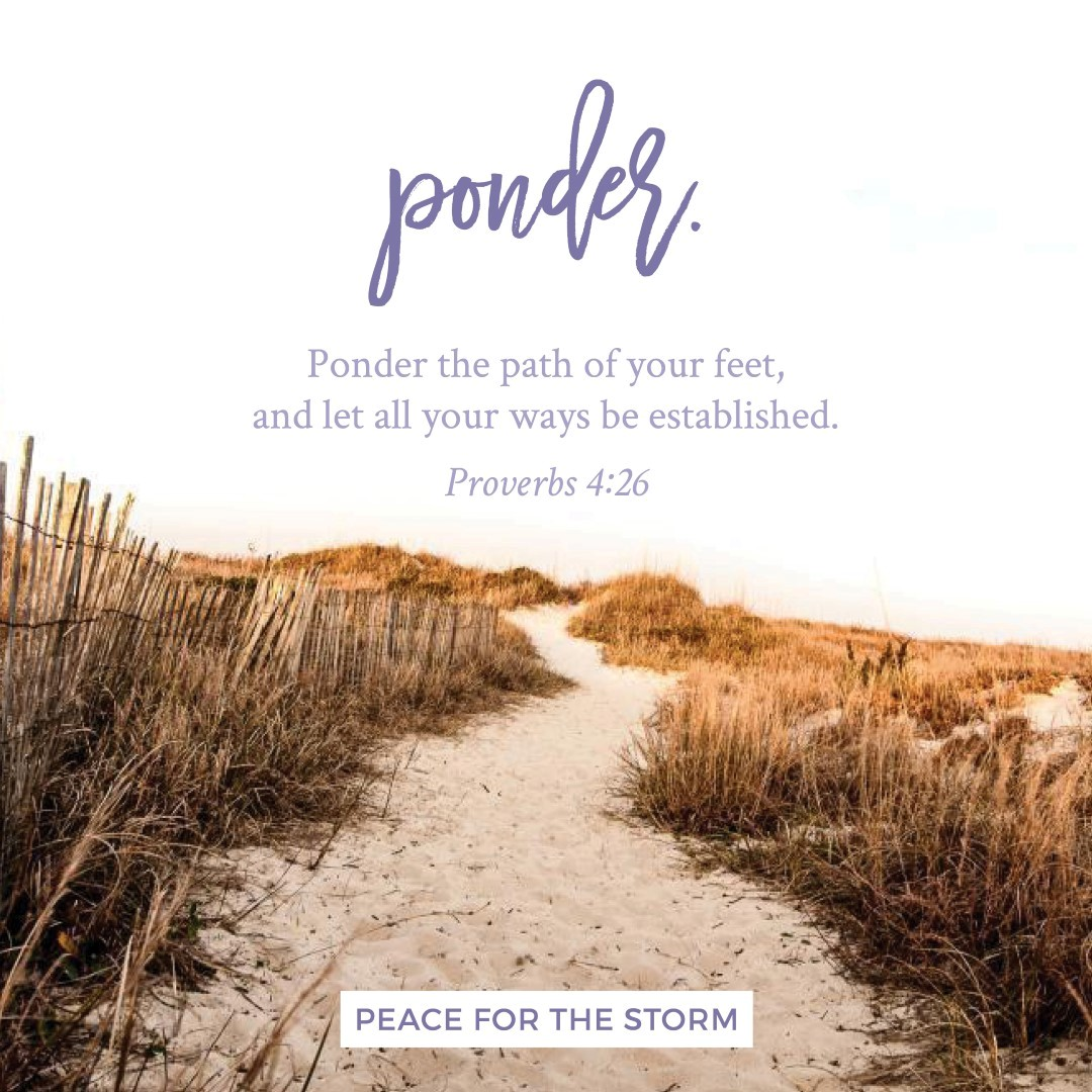 Peace for the Storm Quotes - Ponder the Path
