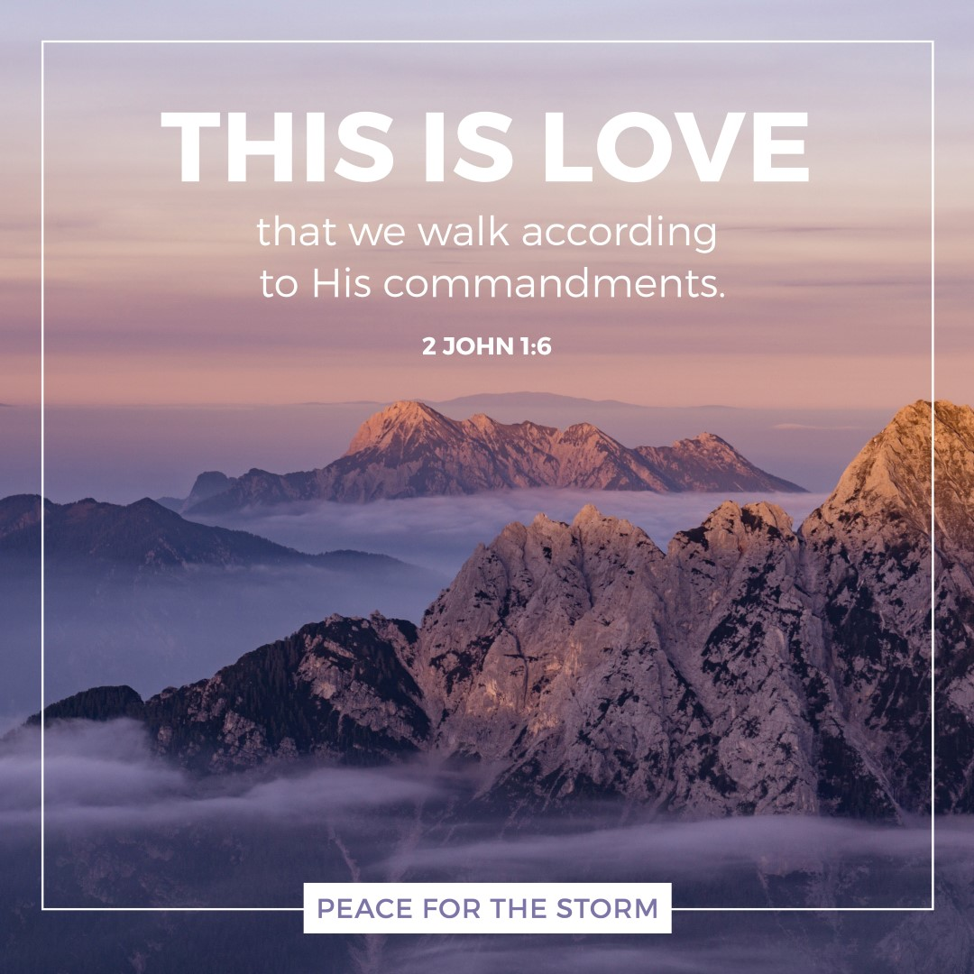 Peace for the Storm Quotes - This is Love