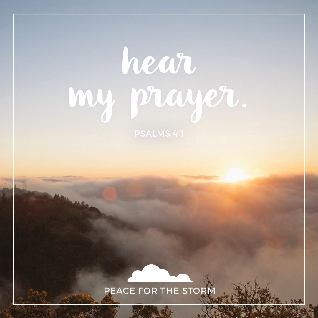 Peace for the Storm Quotes - Hear my Prayer