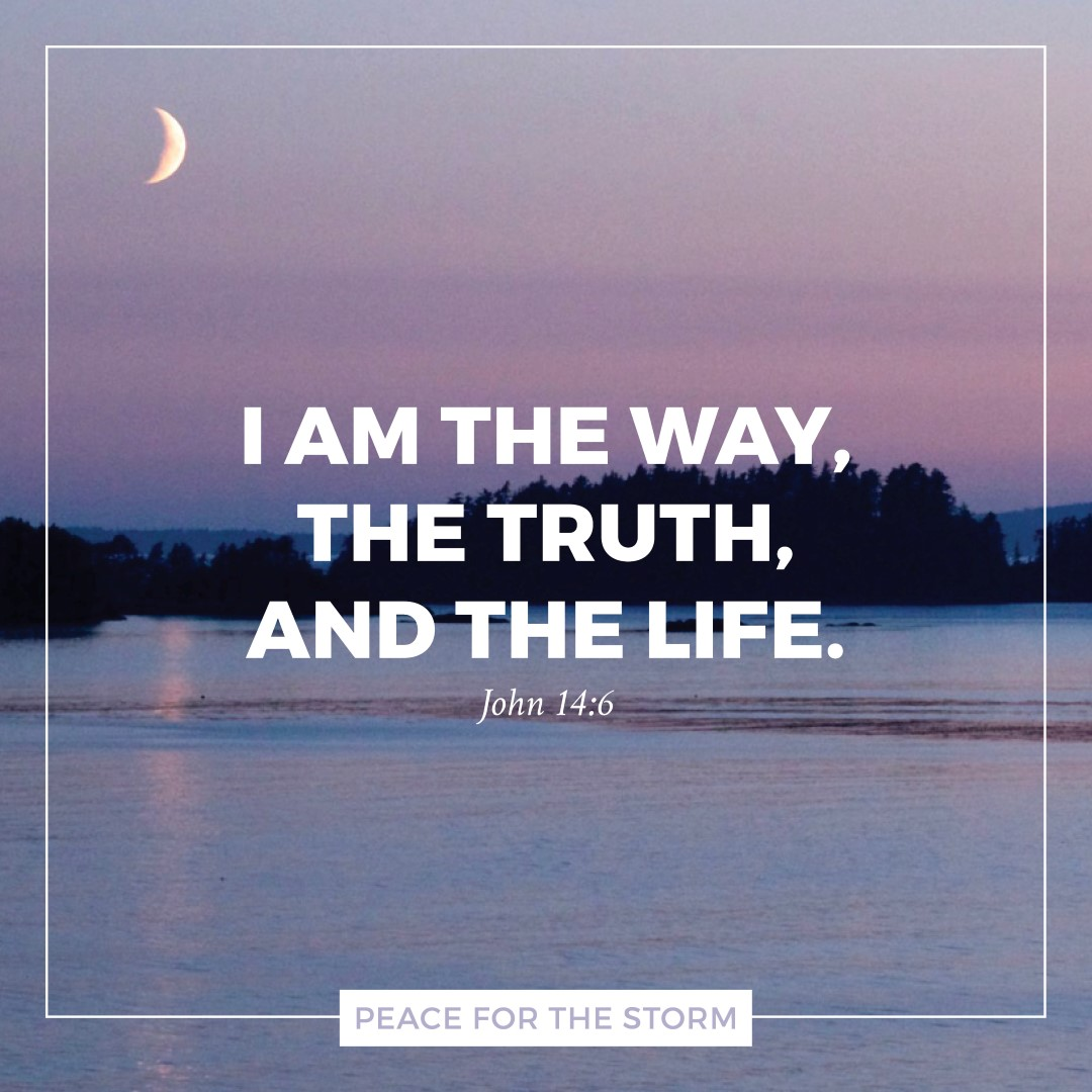 Peace for the Storm Quotes - I Am the Way