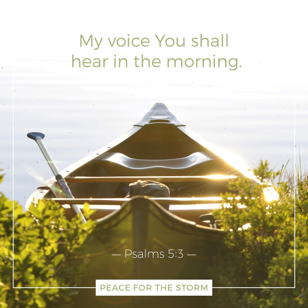 Peace for the Storm Quotes - My Voice You Shall Hear