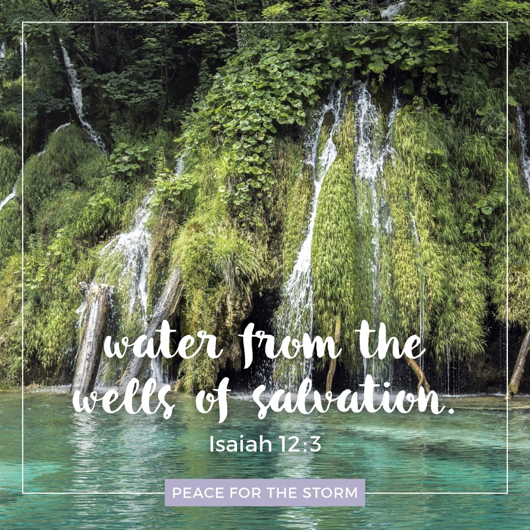 Peace for the Storm Quotes - Wells of Salvation