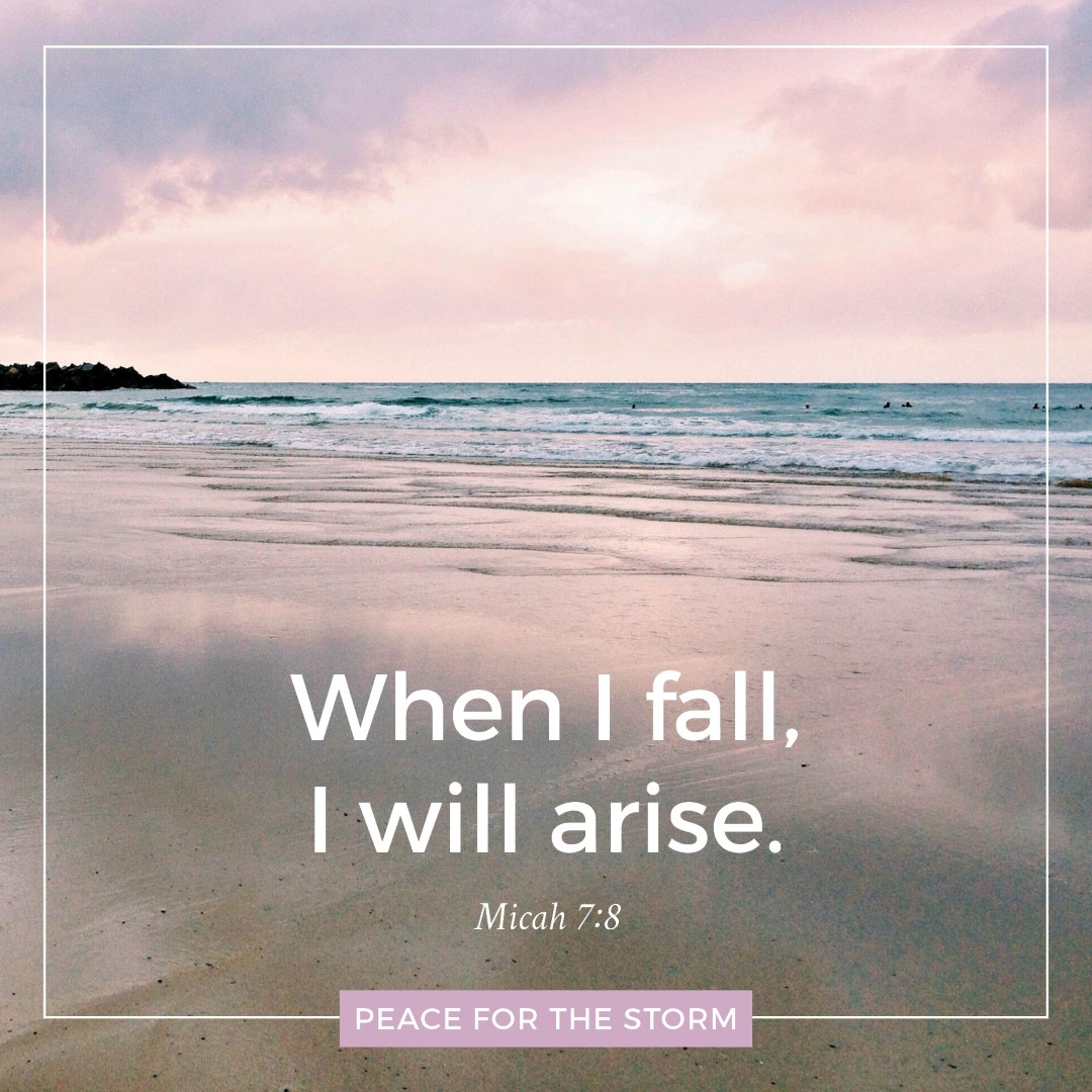 Peace for the Storm Quotes - I Will Arise