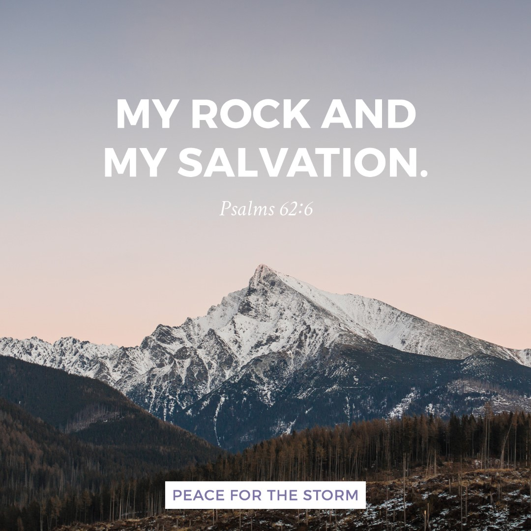 Quotes About Salvation My Rock And My Salvation Peace For The Storm