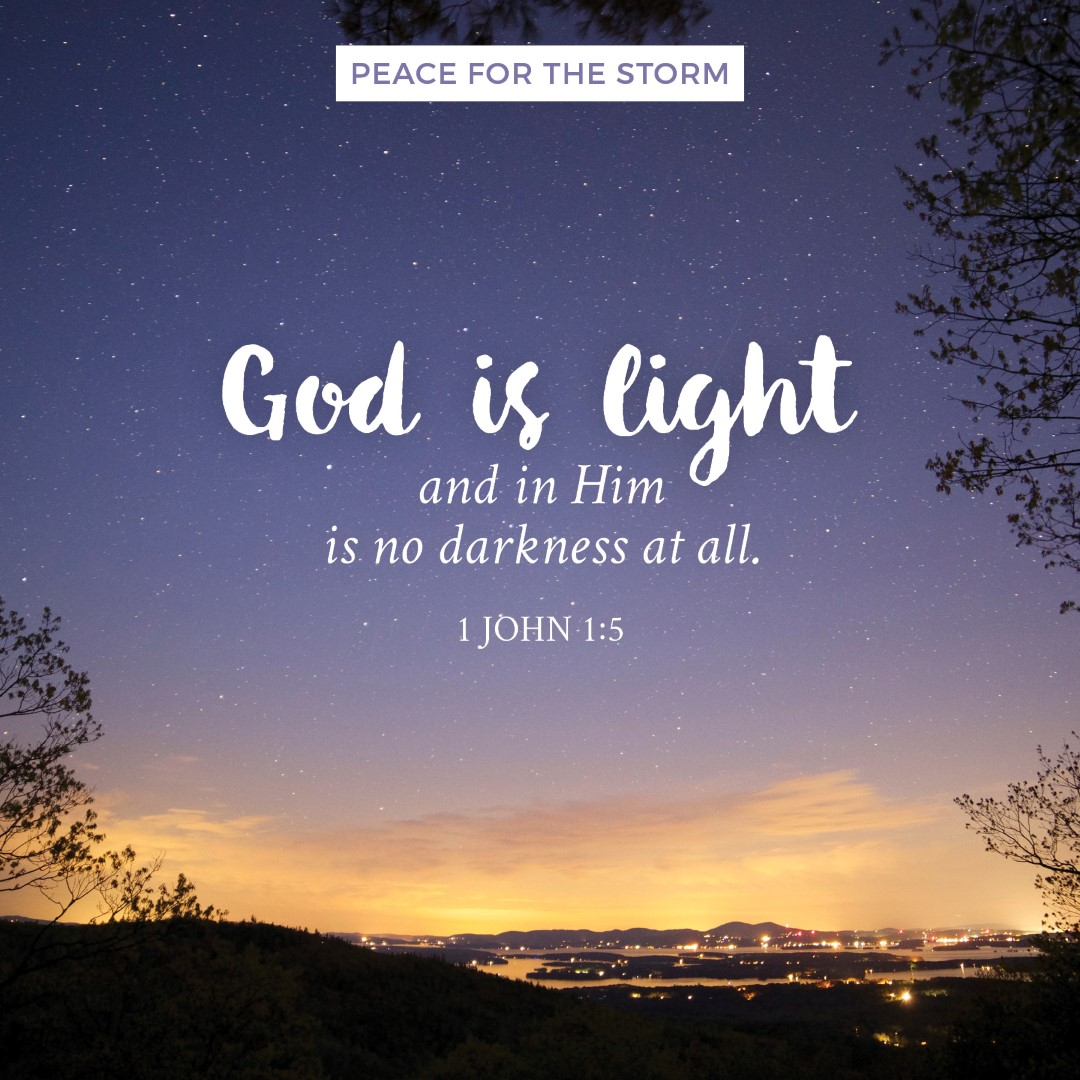 Quotes God God Is Light Peace For The Storm