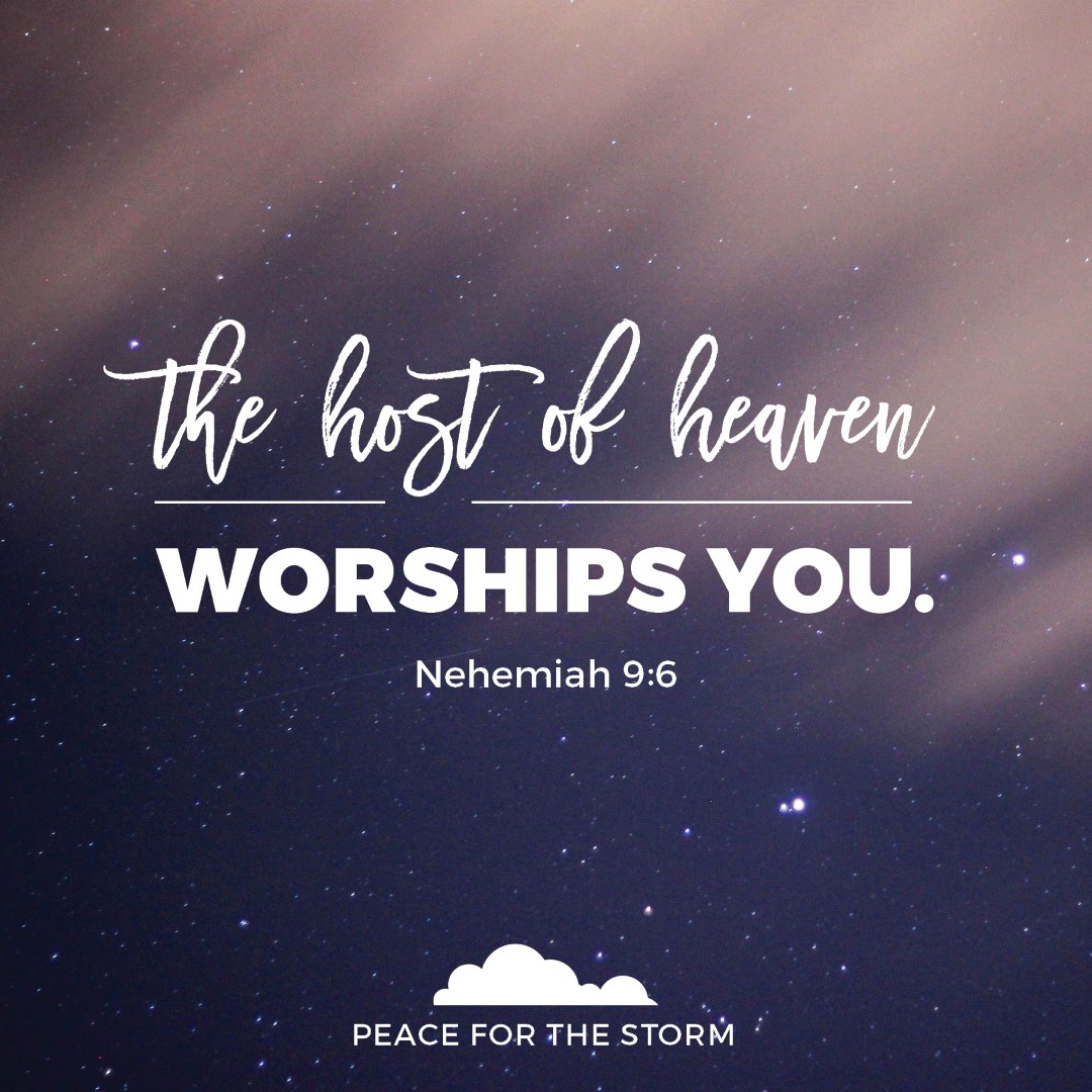 Peace for the Storm Quotes - The Host of Heaven