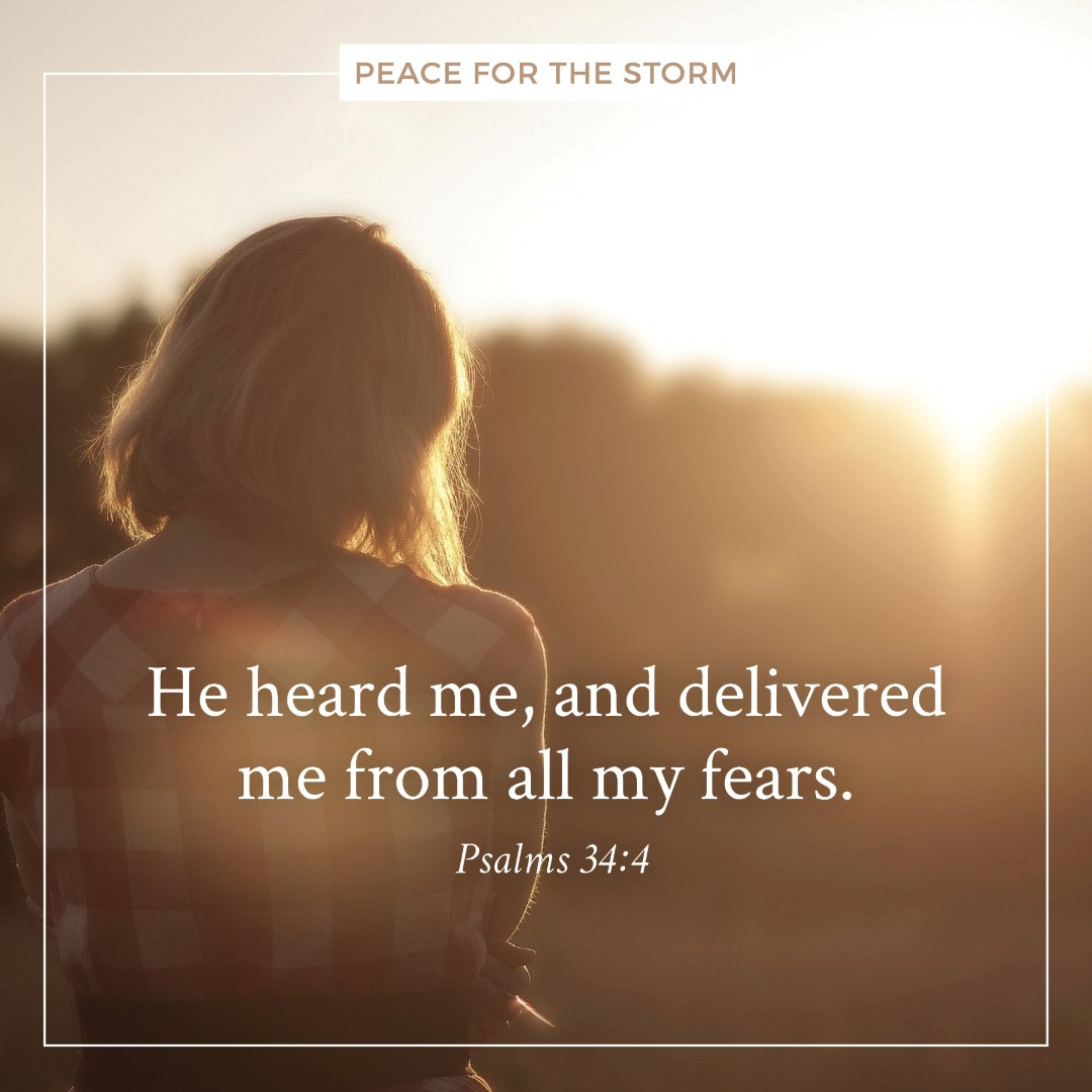Peace for the Storm Quotes - From All My Fears