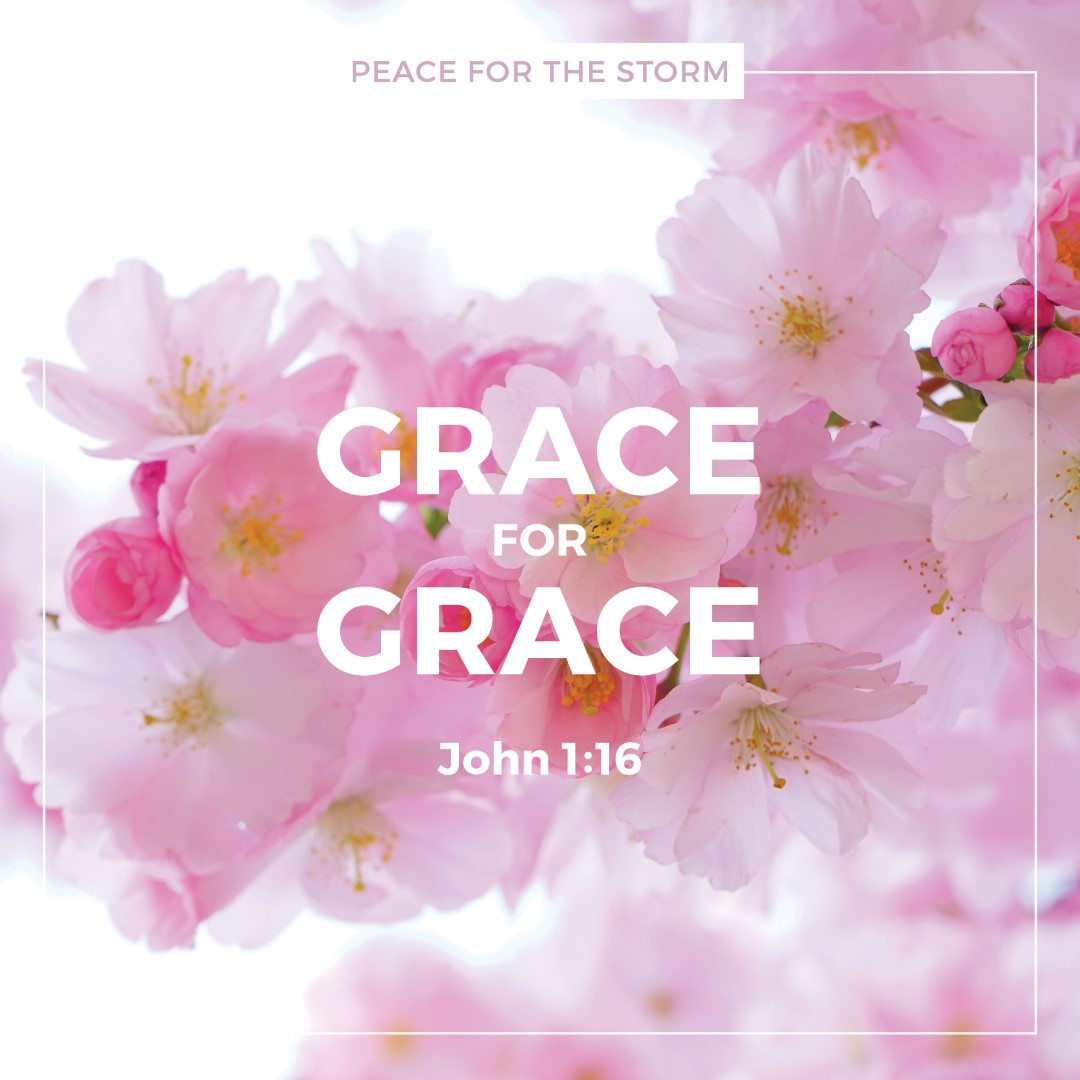 Peace for the Storm Quotes - Grace for Grace
