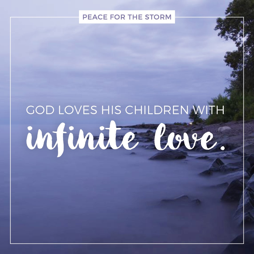 peace for the storm quotes infinite love